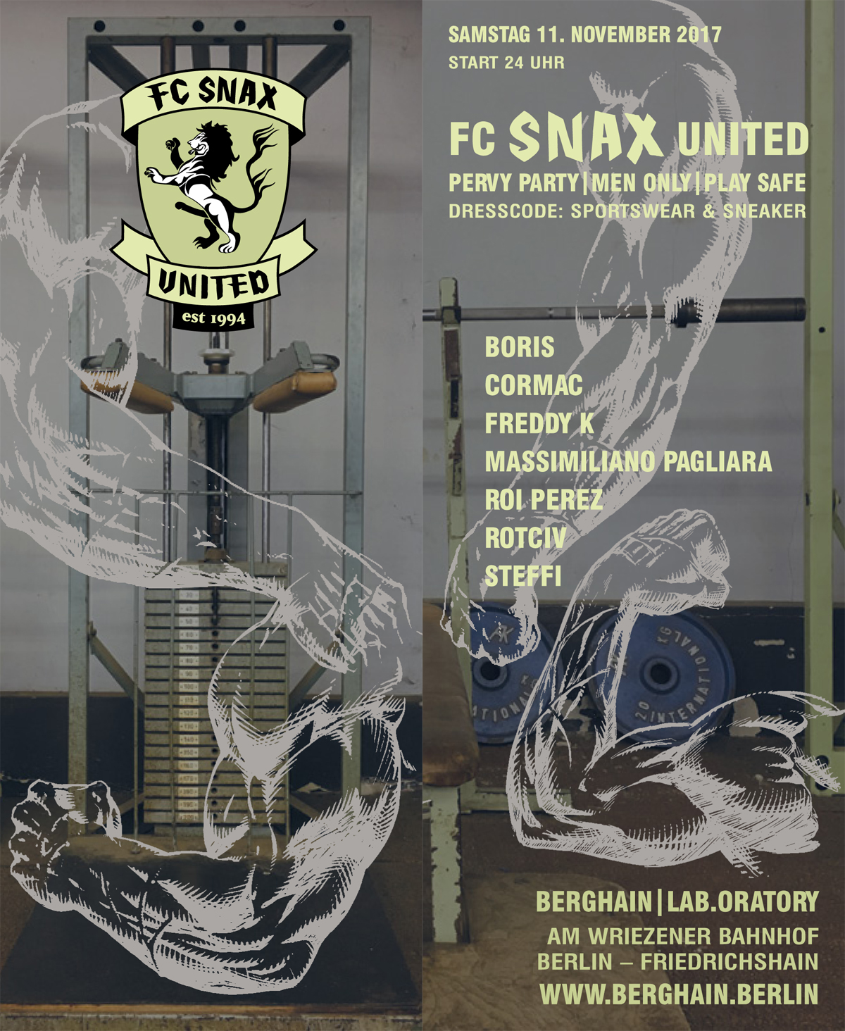 FC SNAX United Flyer 2017